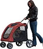 Pet Gear Expedition Pet Stroller for cats and dogs up to 150-pounds.