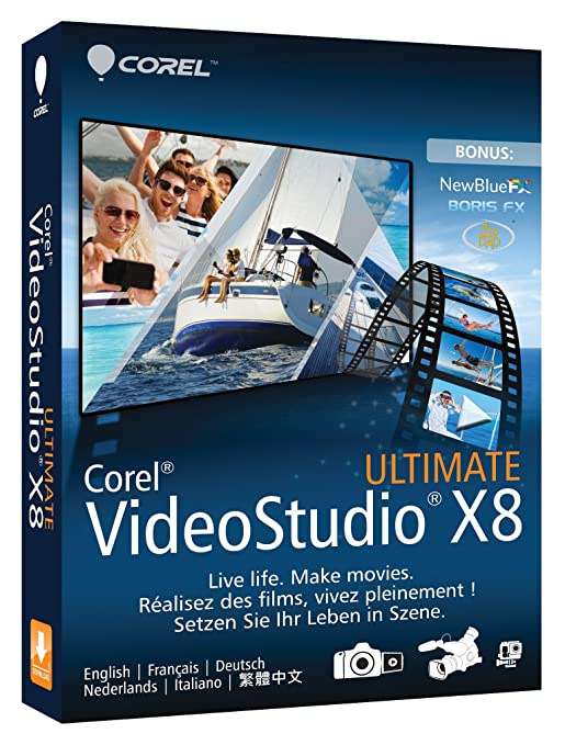 11 opinioni per Corel VideoStudio Ultimate X8- video software (Multilingual)