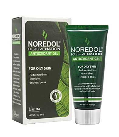 Noredol Redness Relief Rejuvenation Antioxidant Gel 2oz