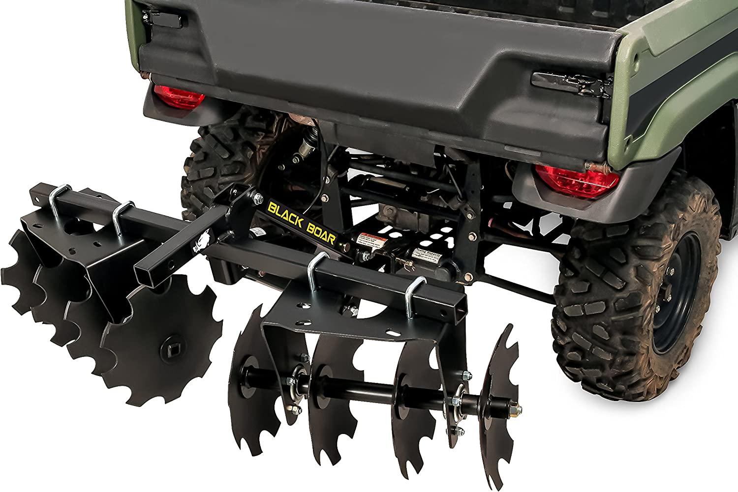 66004 Black Boar ATV Rear Suspension Lock with Adapters to Fit Most Brands