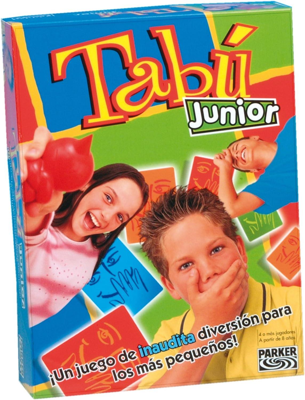 Hasbro Juegos Infantiles Tabu Junior 12600105: Amazon.es: Juguetes ...