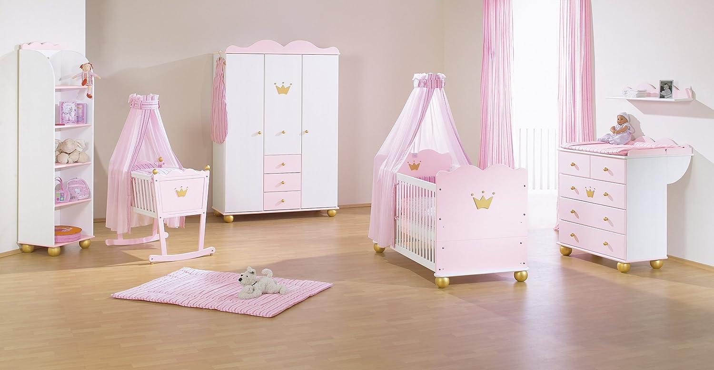 Pinolino 101655G - Kinderzimmer Prinzessin Karolin I, mit 3 ...