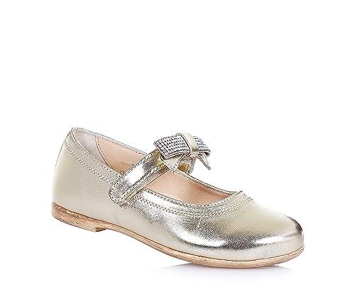 FLORENS - Mocasines para niña dorado Size: 22: Amazon.es: Zapatos y complementos