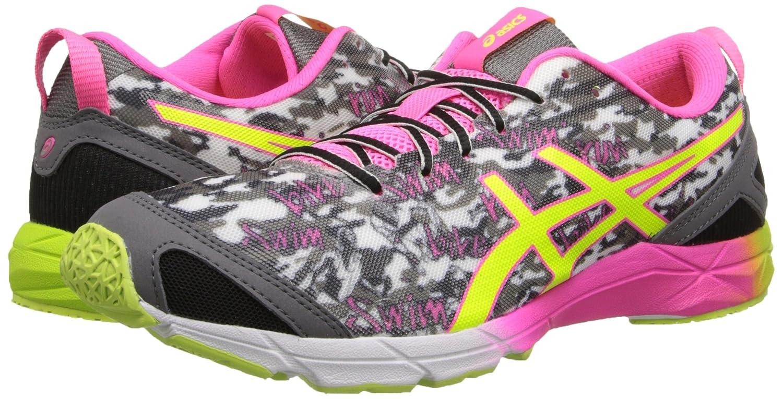 Amazon.com | ASICS Women's Gel-Hyper Tri¿ Onyx/Flash Yellow/Flash Pink 6 B  - Medium | Running