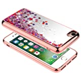 iPhone 8 Case, iPhone 7 Case w/[Tempered Glass