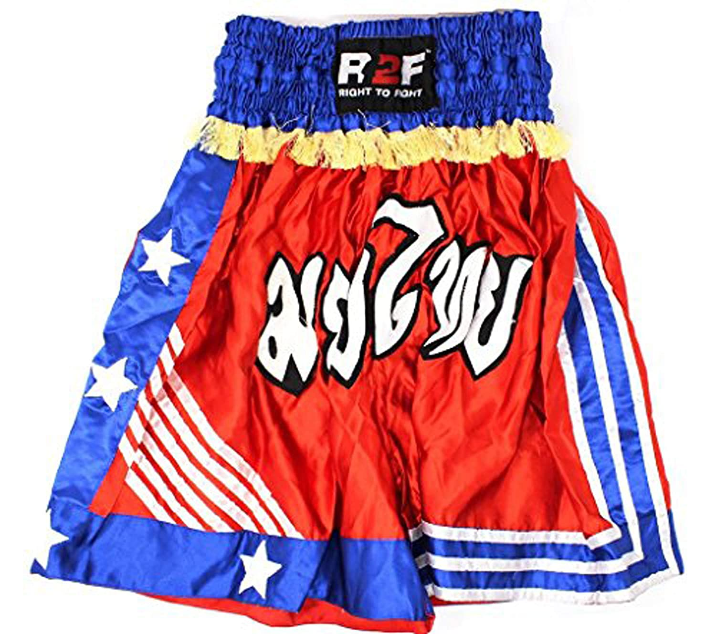 Mens Muay Thai Shorts Kick Boxing MMA Martial Arts ML
