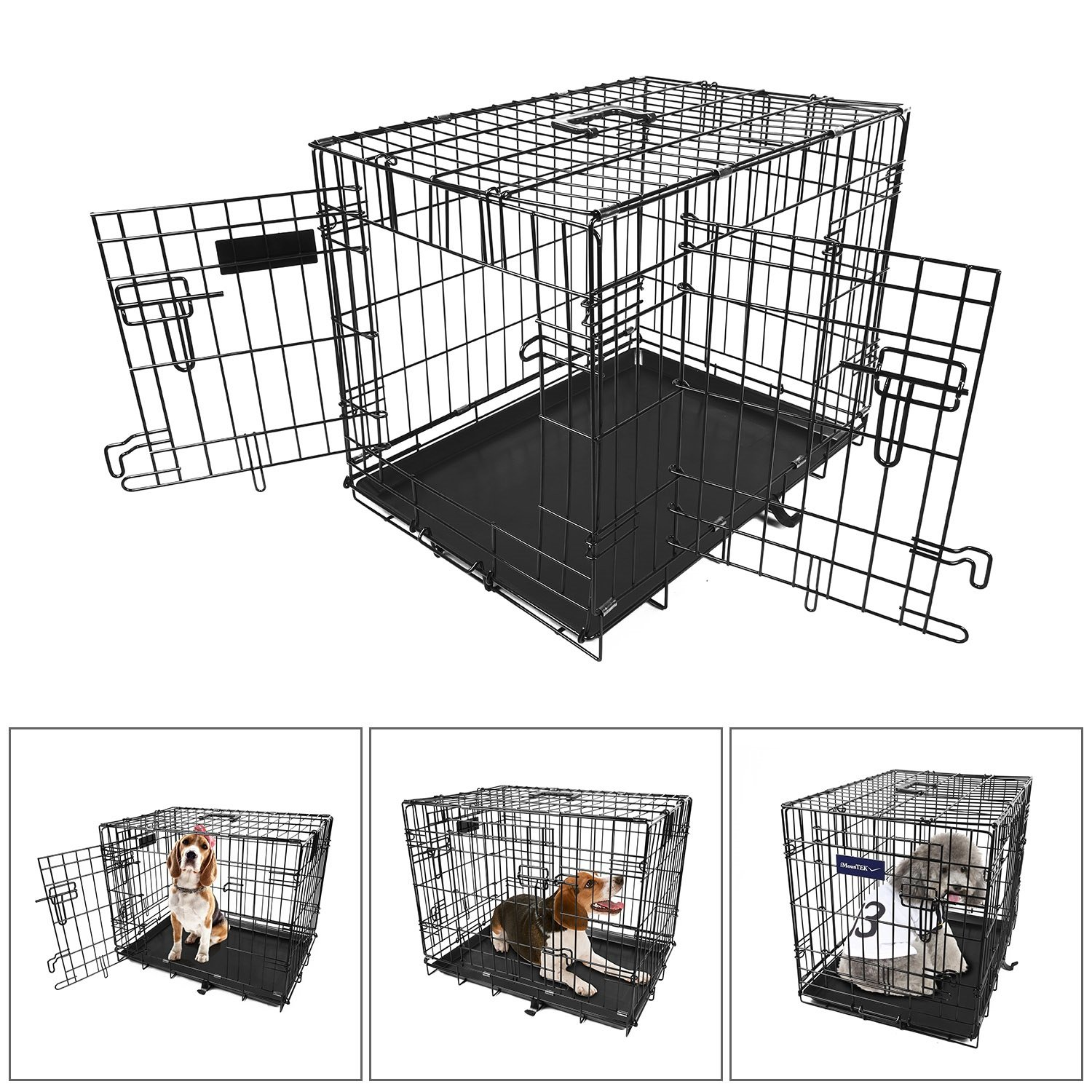 iMounTEK Dog Cage