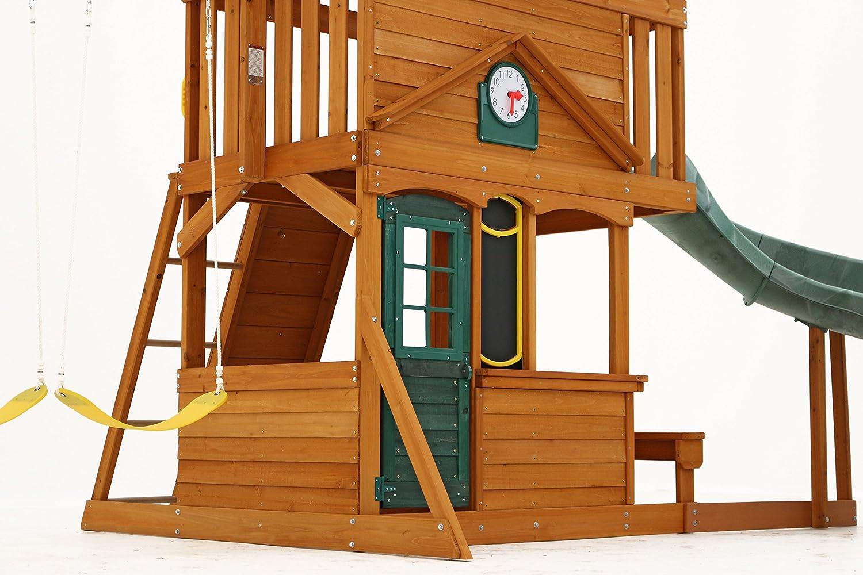 amazon com big backyard ashberry ii wooden play set toys u0026 games