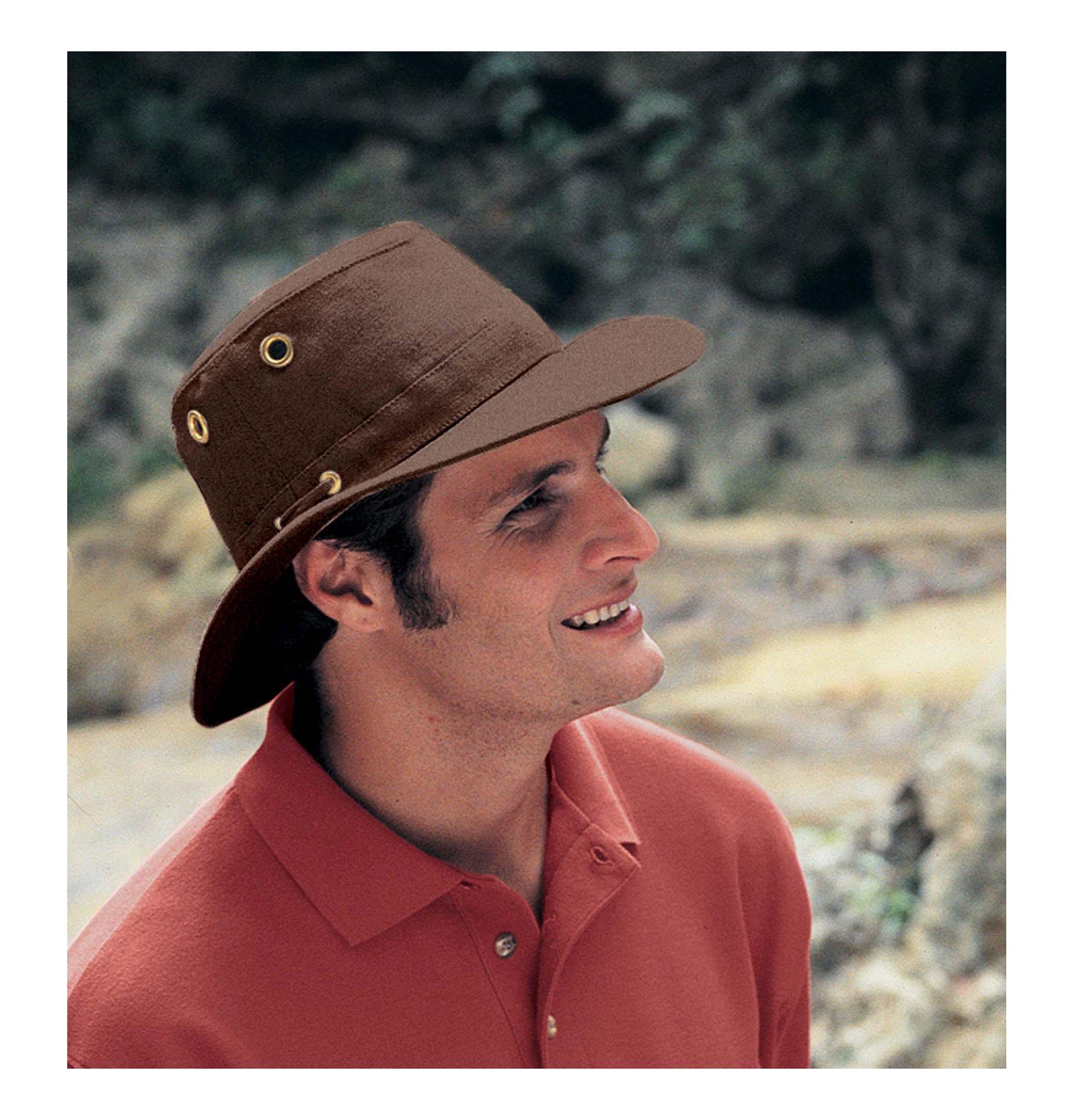 Tilley Hats TH5 Men s Hemp Hat Mocha - TH5-MOCA - Parent   Hats   Caps    Clothing 72db6f7d5462