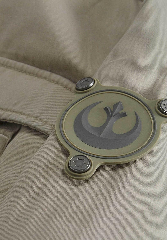 Musterbrand Star Wars Chaqueta Hombre Skywalker Replica Lightweight Zipped Cotton Jacket Beige XS: Amazon.es: Ropa y accesorios