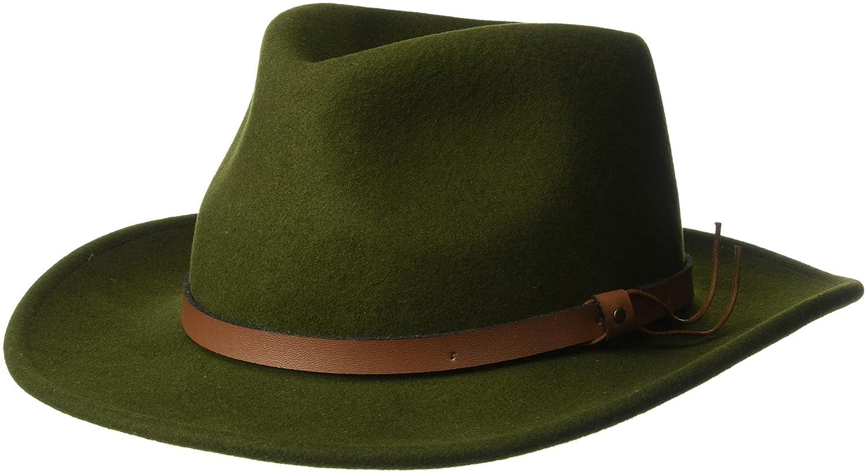 Pantropic Men's Outback Lite Felt Feora Hat Pantropic Men' s Headwear B16