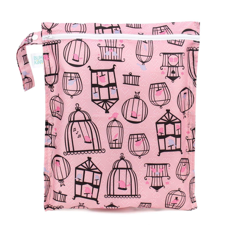 Wet bag - wasserdichte Tasche für Windeln - Feuchttücher oder Kosmetik - Windelsack