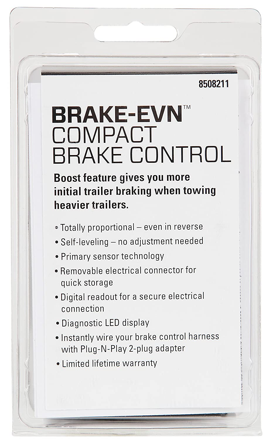 Amazon.com: Reese Towpower 8508211 Brake Control (Proportional BRAKE-EVN):  Automotive