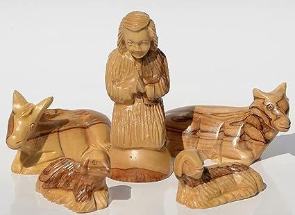 Presepi Di Legno Betlemme : Cleanprince presepe adventskrippe minikrippe legno di ulivo circa