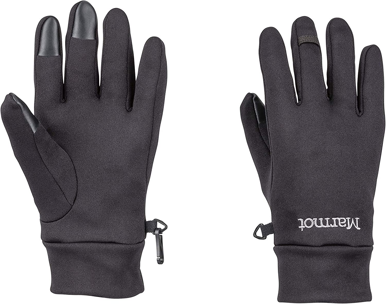 Ciclismo Correr para Exteriores a Prueba de Viento Unisex Adulto Marmot Power Stretch Connect Glove Guantes vell/ón c/álidos Repelente al Agua