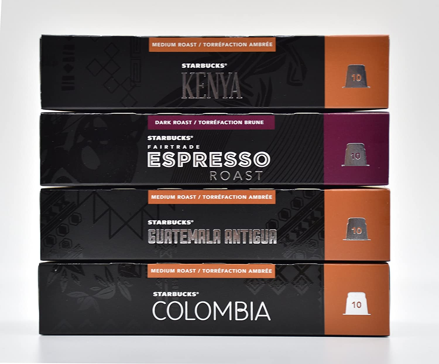 Starbucks Nespresso Espresso Selection Coffee Set 4 Flavour ...
