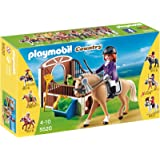 Playmobil - 5520 - Cheval Holsteiner et son paddock