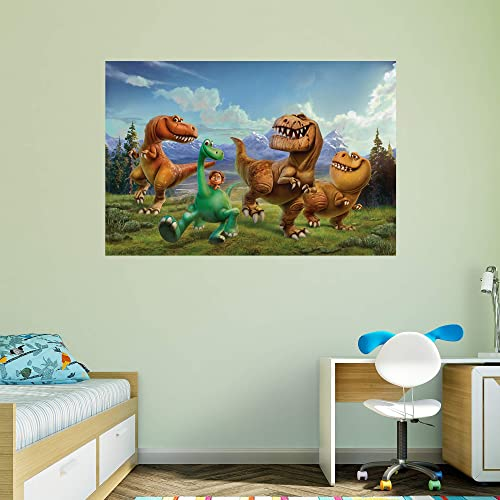 The Good Dinosaur Mural