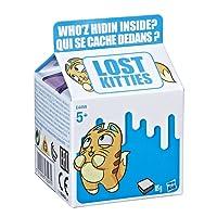 Hasbro Lost Kitties - Confezione Blind Bag Cartone del Latte Singola, Personaggi Gattini Assortiti, E4459EU4