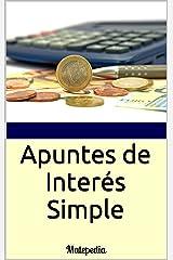 Apuntes de Interés Simple: Matepedia (Spanish Edition) Kindle Edition