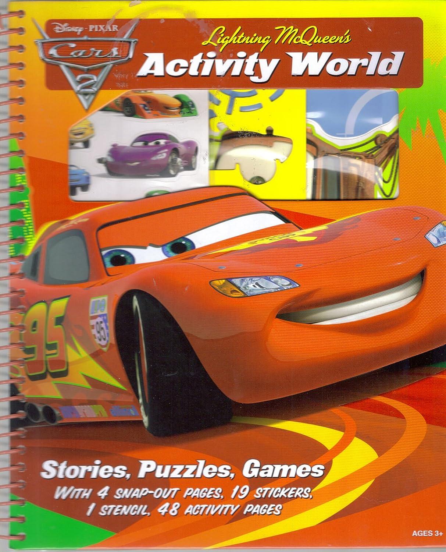 Disney Pixar Cars 2 Lightning McQueens Activity World Artitic Studios Ltd.