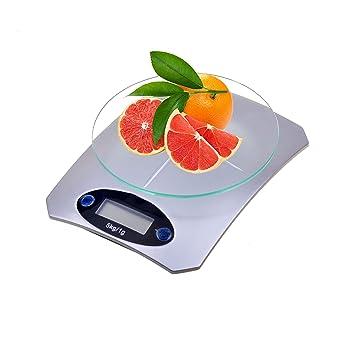 Tech Traders - Báscula digital LCD electrónica de cocina para uso doméstico