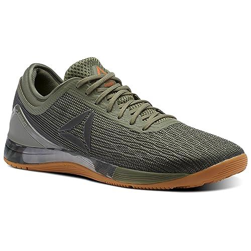 Reebok - Zapatillas de Material Sintético para Hombre Verde Verde: Amazon.es: Zapatos y complementos