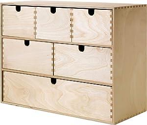 IKEA.. 402.163.57 Moppe Mini Storage Chest, Birch Plywood