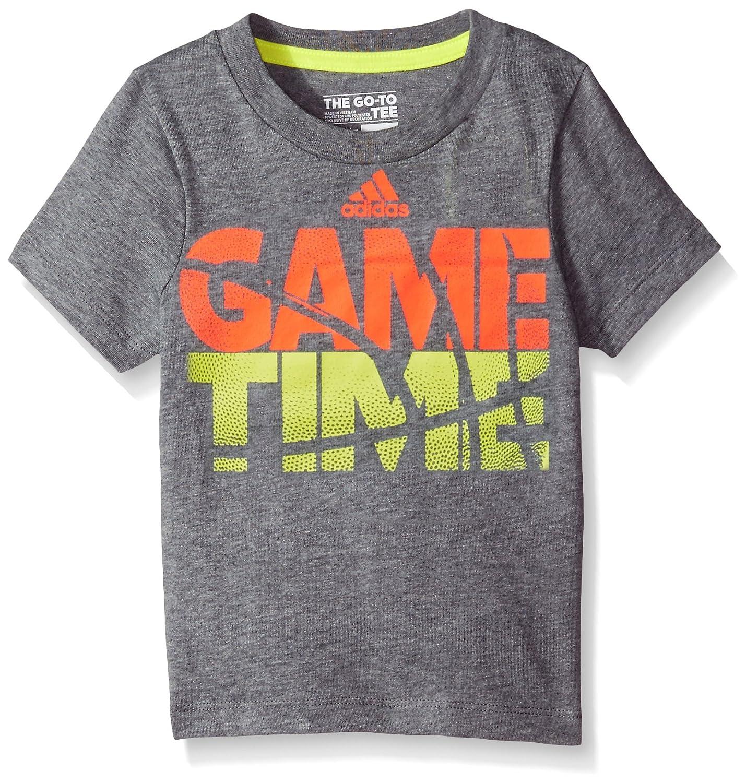 Amazon.com: adidas Boys tren a Win Tee: Clothing