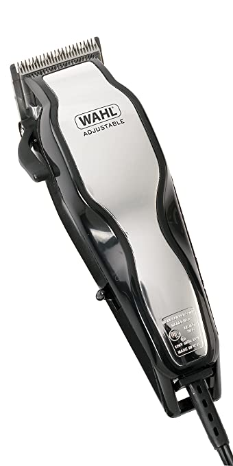 Wahl Chromepro Adjustable Hair Clipper Set, 25 Piece Beard Trimmers at amazon