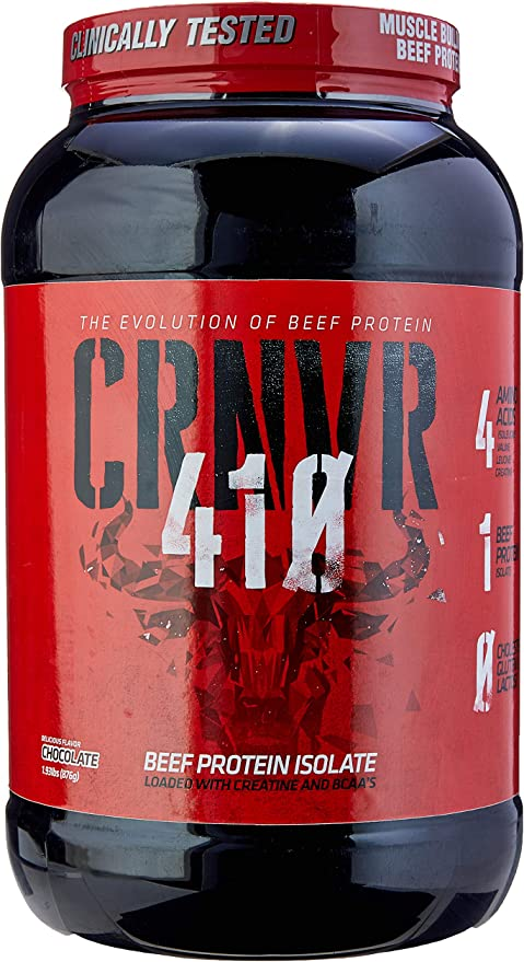 410 Beef Protein Isolate, CRNVR, Chocolate, 876g por CRNVR