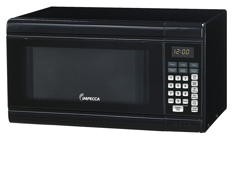 Impecca CM0991K Countertop Microwave Oven 900W Power, Black, 0.9 cu. ft.