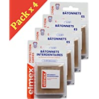 Elmex Protection Caries varillas interdentaires – recinto de 3 x 38 varillas – Lote