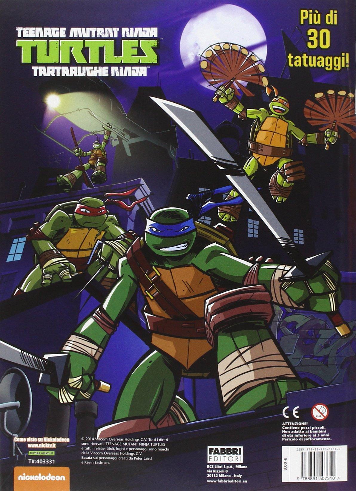 La grande sfida! Turtles Tartarughe Ninja. Con gadget ...