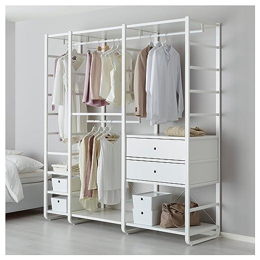IKEA elvarli - 3 secciones blanco: Amazon.es: Hogar