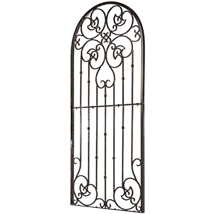 Merveilleux H Potter Garden Trellis Wrought Iron Heavy Scroll Metal Decoration (Large)