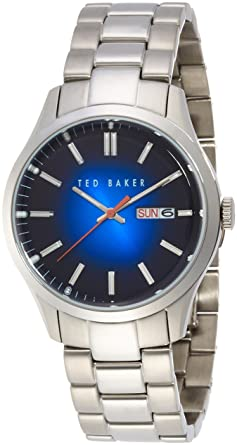 23dbcf04b Image Unavailable. Image not available for. Color  Ted Baker Men s 10023467  Dress Sport Analog Display Japanese Quartz ...