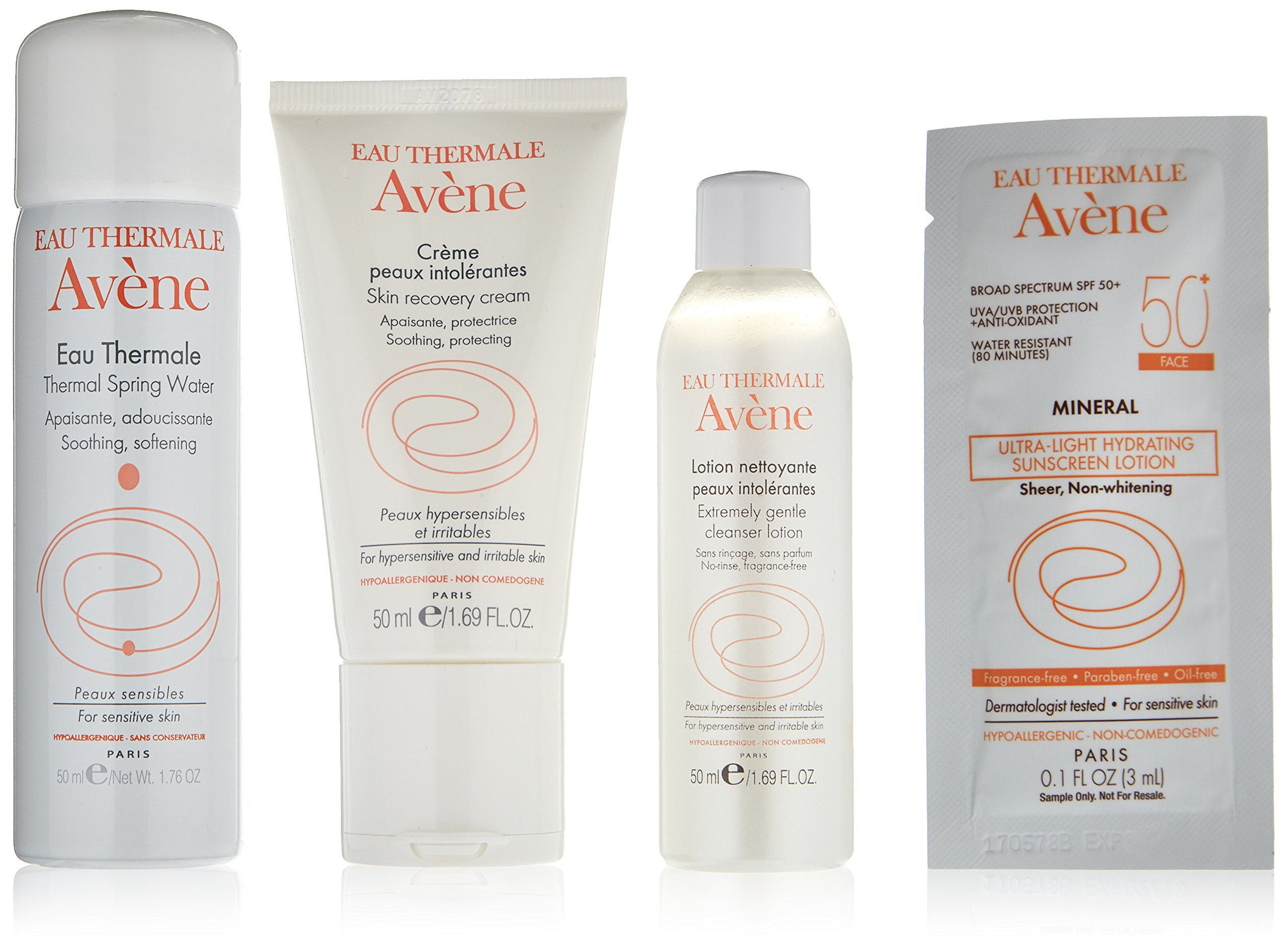 Eau Thermale Avène Hypersensitive Skin Regimen Kit, 9.6 oz.