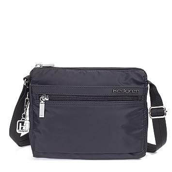 2e93b3569b Hedgren Women S Eye Shoulder Bag with Rfid-Blocking Pouch Black  Amazon.in   Bags