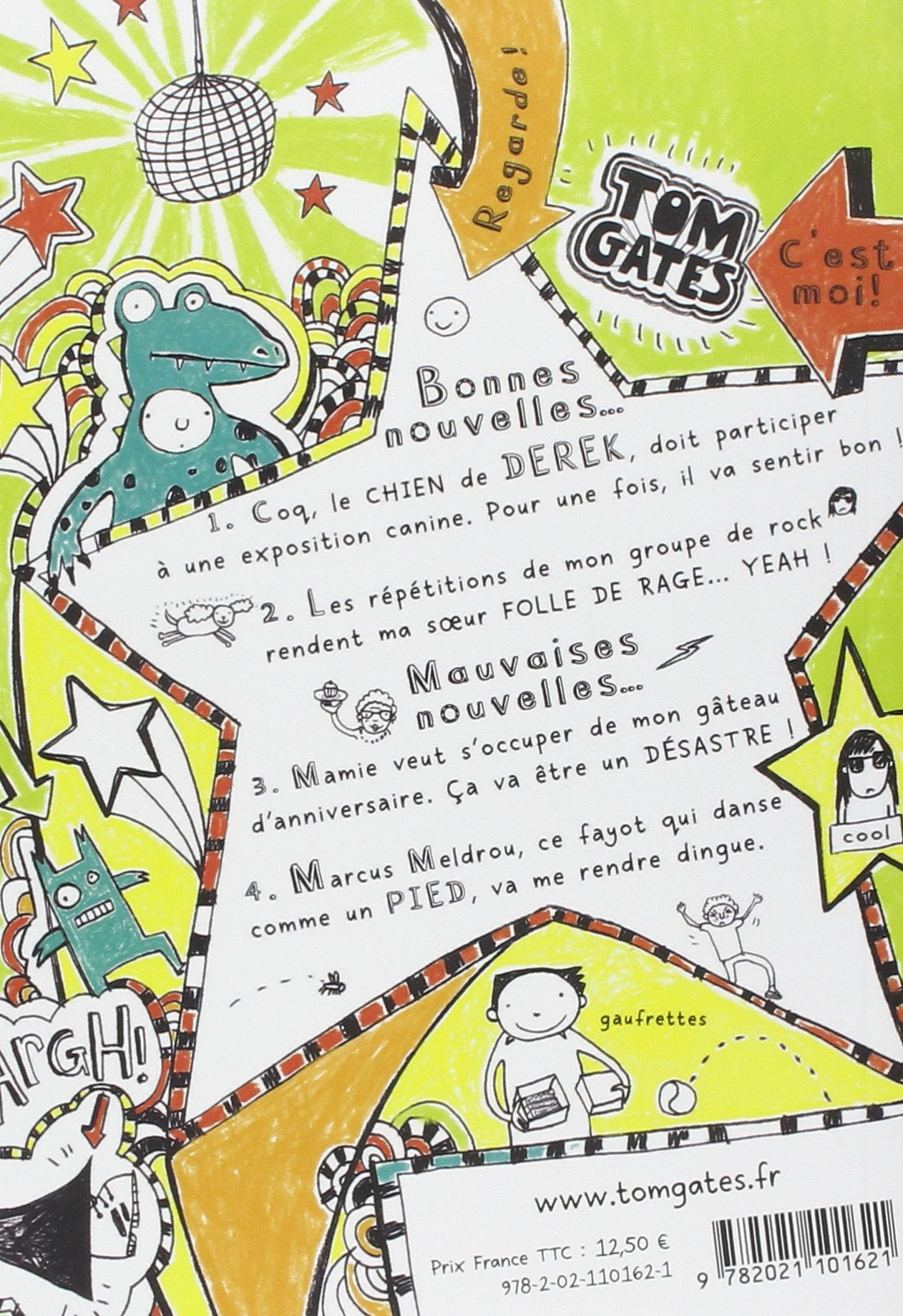 Tom Gates Tome 3 Tout est genial ou presque French