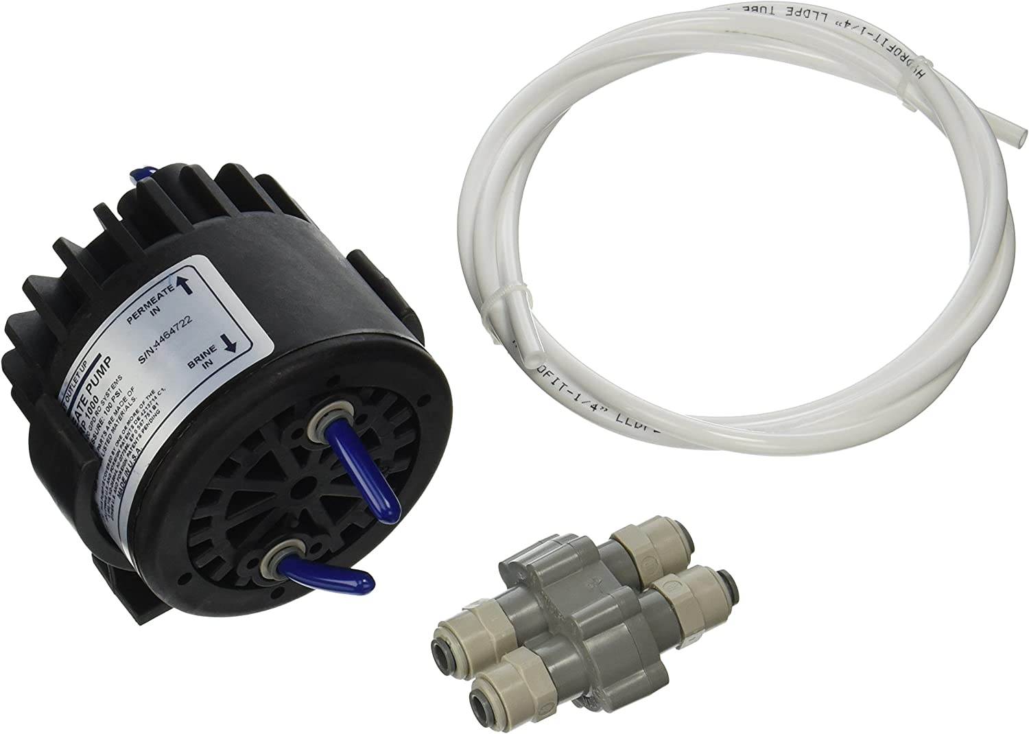 Permeate pump upgrade kit with 90% auto shut off ASOV tubing and clip kit ERP1000