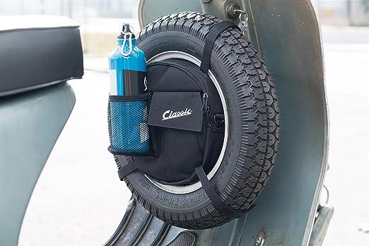 Tasche Sip Classic Für Reserverad 10 Felge Offen 8 Geschlossen Rund 24x5 Cm Nylon Schwarz Auto