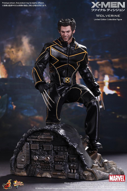 "HOT TOYS  X-Men Last Stand WOLVERINE 12/"" 1//6 Scale Figure Sideshow Hugh Jackman"