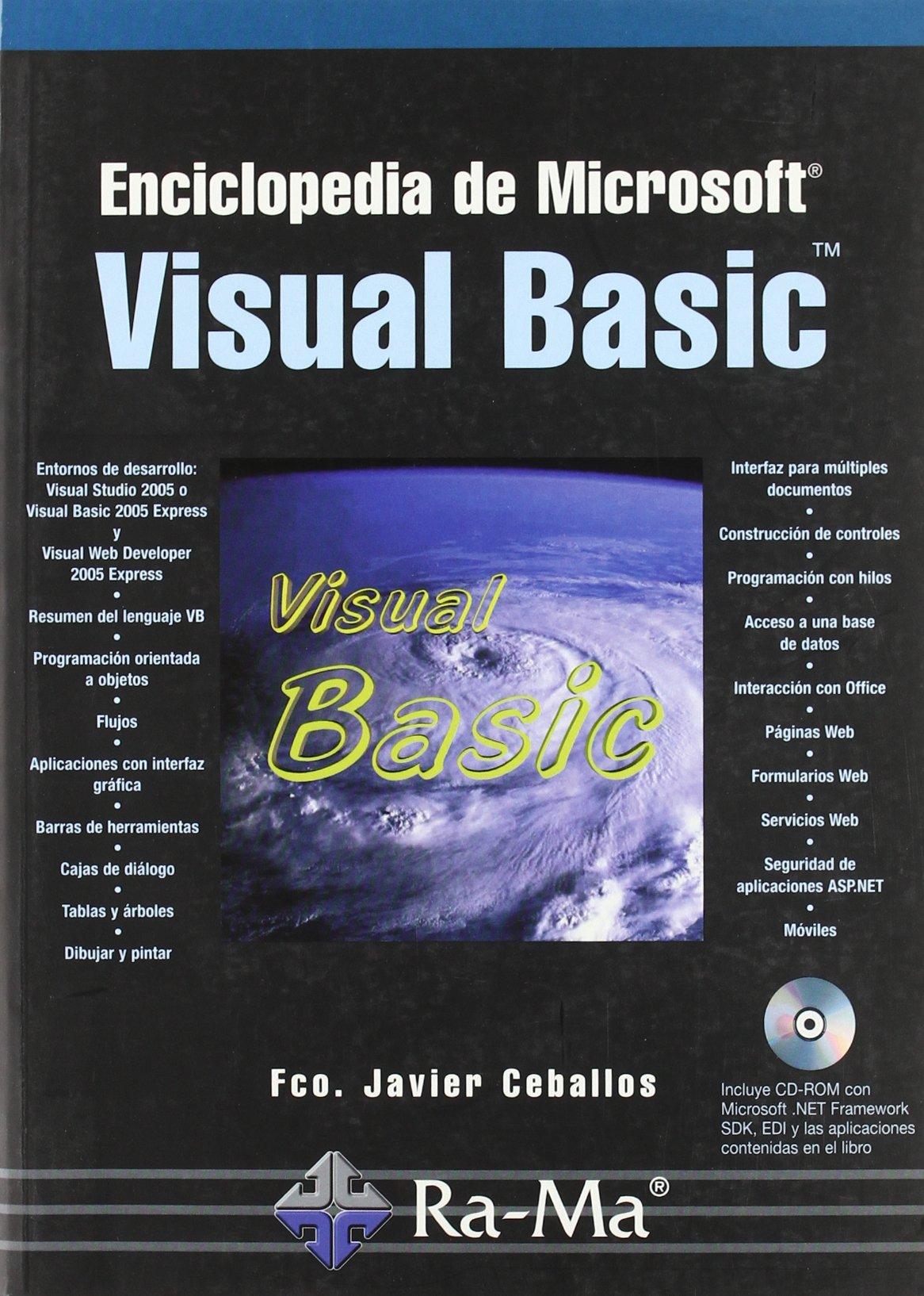 Enciclopedia de Microsoft Visual Basic. (Spanish) Paperback