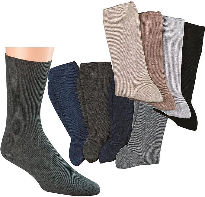 Socks Pur Hombre de Salud Calcetines, algodón Colores precolocados ...