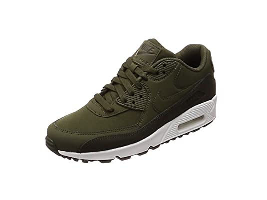 Nike Air Max 90 Essential, Zapatillas Hombre, Negro (Black/Black/White