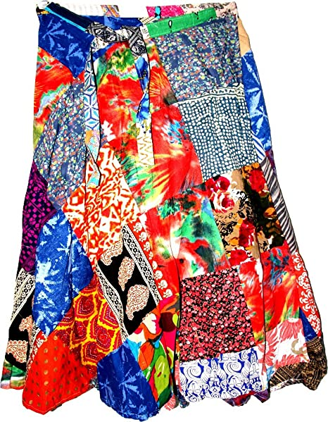 Amazon.com: highwaypay Yoga Maxi falda larga de algodón boho ...