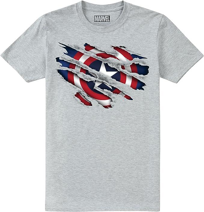 Marvel Spiderman Torn T-Shirt Bambino