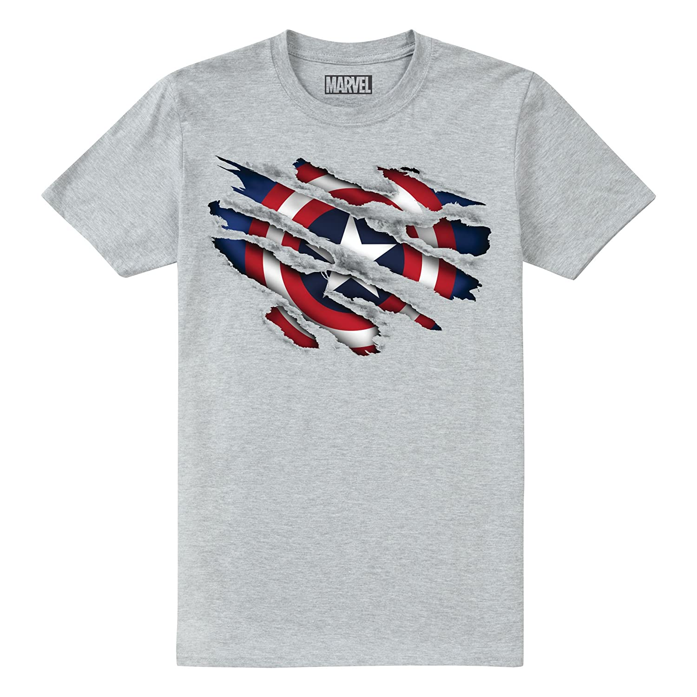 T-Shirt Bambino Marvel Captain America Torn