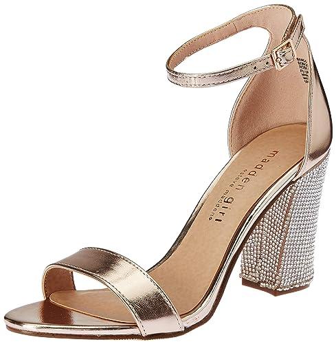 5 Gold Ukindia Women's Bangg Sandals Madden Fashion Rose 3 Steve wOXiTPkulZ